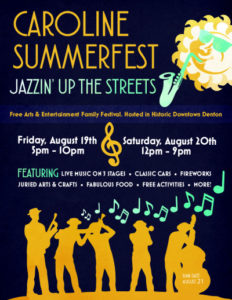 Caroline Summerfest - Jazzin up the Streets